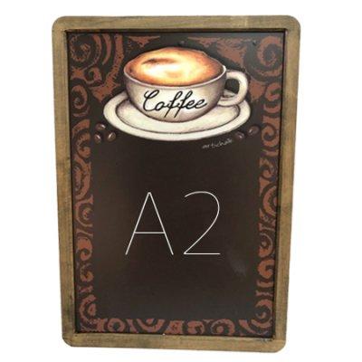 A2サイズ シート黒板 コーヒー