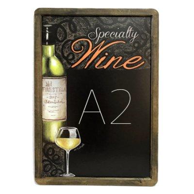 A2サイズ シート黒板 ワイン