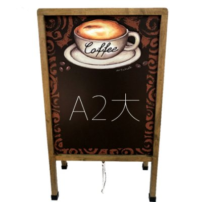 A型 サイズ シート黒板 コーヒー