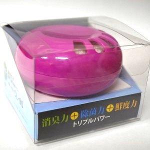 エンブロイ CL-90 Spin(スピン) 1個 固形二酸化塩素除菌消臭剤 本体のサブ画像1