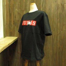 【GUESS/ゲス】ハローキティコラボ半袖Tシャツ バー ブラック
