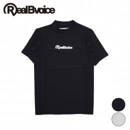 【RealBvoice/リアルビーボイス】SHORT SLEEVE RUSH GUARD