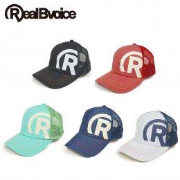 【RealBvoice/リアルビーボイス】R-MARK COTTON MESH CAP(メーカー直送)