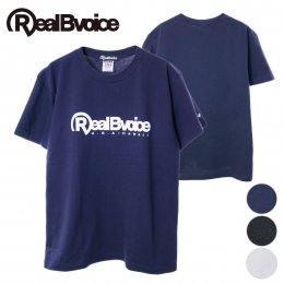 【RealBvoice/リアルビーボイス】[定番] BASIC RBV LOGO T-SHIRT [10161-10802](メーカー直送)
