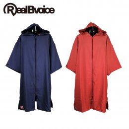 【RealBvoice/リアルビーボイス】MADE IN JAPAN COTTON ZIP PONCHO(メーカー直送)