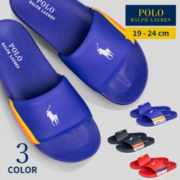 <img class='new_mark_img1' src='//img.shop-pro.jp/img/new/icons14.gif' style='border:none;display:inline;margin:0px;padding:0px;width:auto;' />【POLO RALPH LAUREN/ポロ ラルフローレン】FLETCHER SLIDE(メーカー直送)