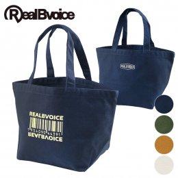 【RealBvoice/リアルビーボイス】BARCODE CANVAS MINI TOTE BAG(メーカー直送)