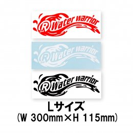 【RealBvoice/リアルビーボイス】STICKER W/W Lサイズ(メーカー直送)