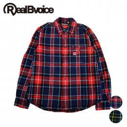 【RealBvoice/リアルビーボイス】RBV MADE IN JAPAN FLANNEL SHIRT(メーカー直送)