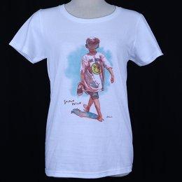 【かとうくみ × Second Wind】 水彩画 Women's Tシャツ