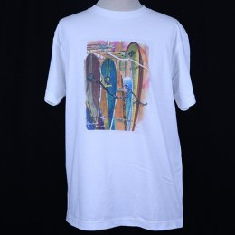 【かとうくみ × Second Wind】 水彩画 Men's Tシャツ