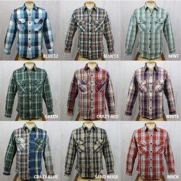 【Selected Brand】チェックシャツ(全9タイプ)
