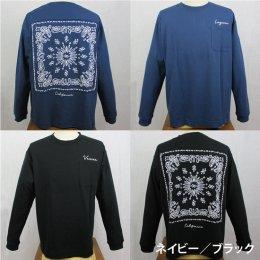 【ANTIBALLISTIC/アンティバルリスティック】 バンダナ貼り付け 長袖Tシャツ