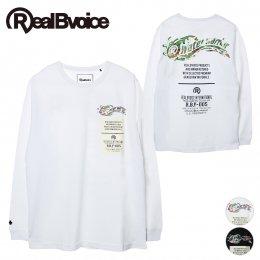 【RealBvoice/リアルビーボイス】WATER WARRIOR CAMO LONG T-SHIRT(メーカー直送)