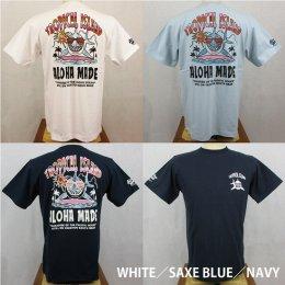 【Selected Bland】半袖Tシャツ TROPICAL ISLAND Shark Vacation