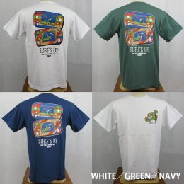 【Selected Bland】半袖Tシャツ SURF'S UP