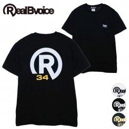 【RealBvoice/リアルビーボイス】[定番] BASIC R34 LOGO T-SHIRT [10231-10928](メーカー直送)