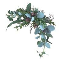グリーンスワッグ 【ウェディング ウェルカムボード装飾や結婚式受付の飾り付けに】 アレンジ用造花 アートフラワー