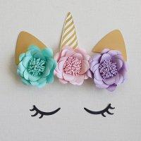 ユニコーン ウォールデコレーションセット 【お誕生日パーティーの飾り付けに バースデー】