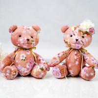 ウェルカムドール 完成品 和風ウェルカムベア 桜(さくら) 【送料無料】