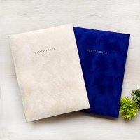 高級感のあるシンプルな結婚証明書 テノール アイボリー 【メール便OK(送料164円)】