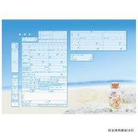 婚姻届(令和) えらべる婚姻届 ビーチ 【メール便OK(送料164円)】