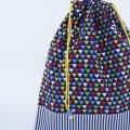 着替え袋(ミニさんかく ネイビー)