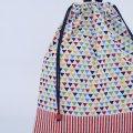 着替え袋(ミニさんかく ホワイト)