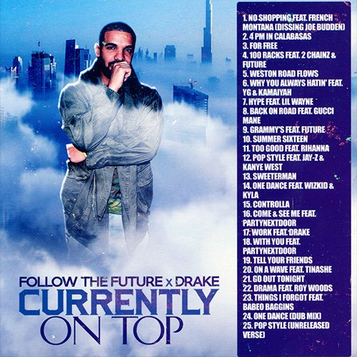 Drake - Currently On Top MIXCD c 20160822