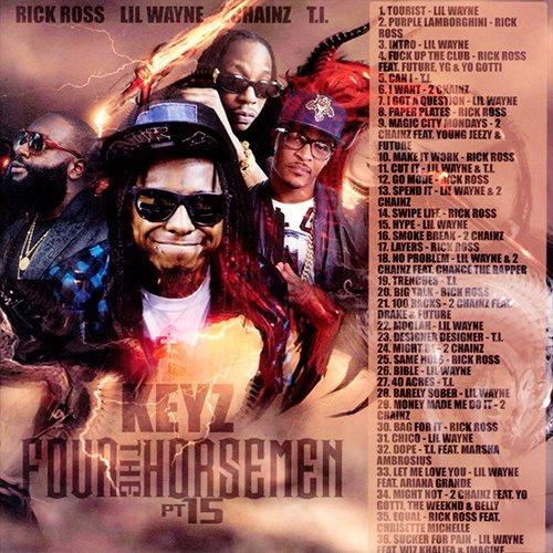 DJ Keyz - The Four Horsemen Part 15 MIXCD f 20160822