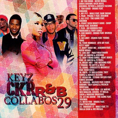 DJ Keyz - CKR RnB Collabos 29 MIXCD c 20160822
