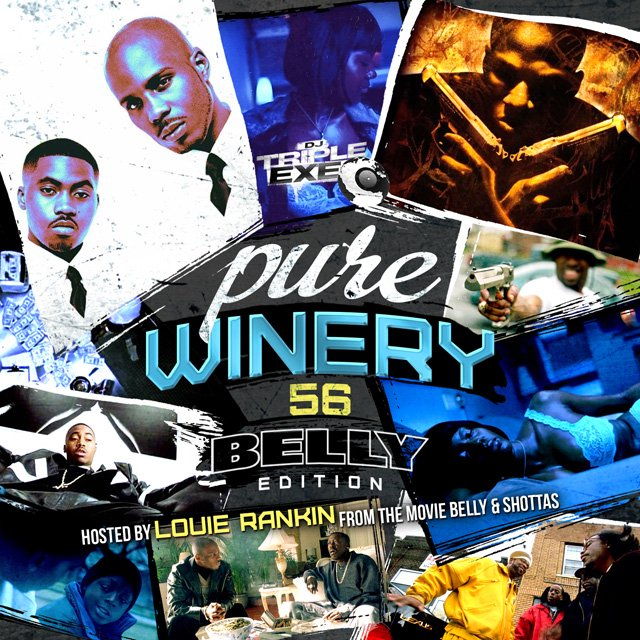 DJ Triple Exe - Pure Winery 56 (Hosted By OX From The Movie Belly) MIXCD p 20160916