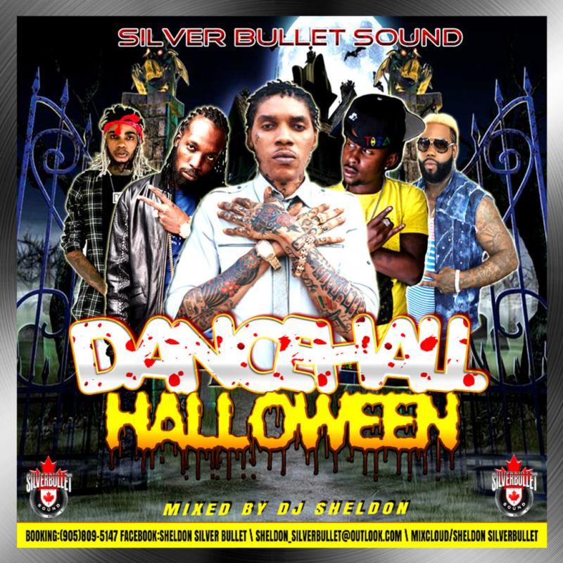Silver Bullet Sound – Dancehall Halloween MIXCD d 20161024