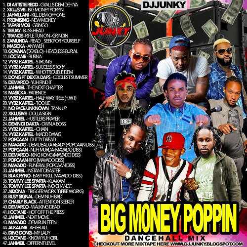 <img class='new_mark_img1' src='//img.shop-pro.jp/img/new/icons1.gif' style='border:none;display:inline;margin:0px;padding:0px;width:auto;' />DJ Junky - Big Money Poppin Mixtape 2K16 MIXCD b 20161031