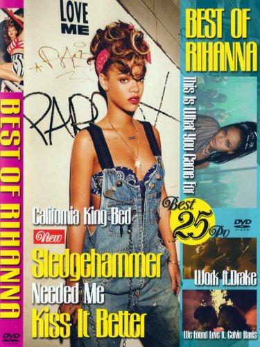 今一番新しいリアーナベストVA / BEST OF RIHANNA DVD