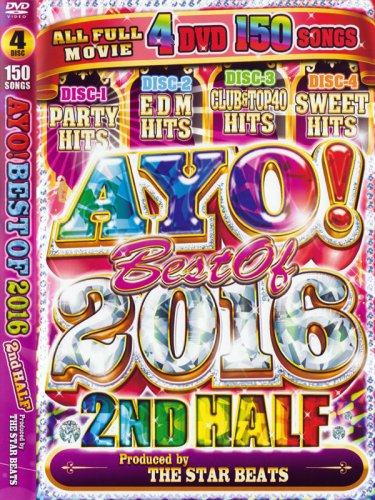 <img class='new_mark_img1' src='https://img.shop-pro.jp/img/new/icons1.gif' style='border:none;display:inline;margin:0px;padding:0px;width:auto;' />STAR BEATS / AYO! BEST OF 2016 2ND HALF 4DVD