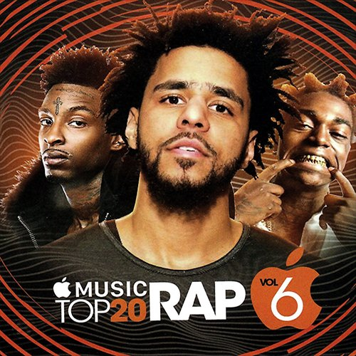 The Empire: Apple Music Top 20 RAP Volume 6 MIXCD a 20170109