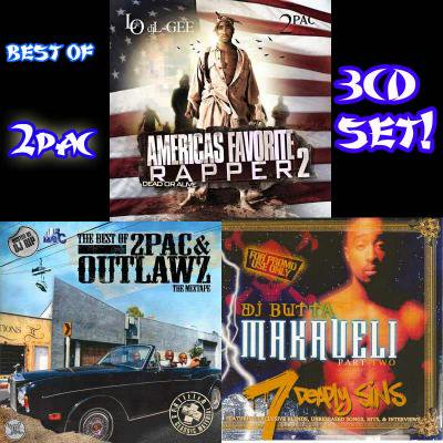 BEST OF 2PAC-3CDs&2DVDsSET!!!!!!