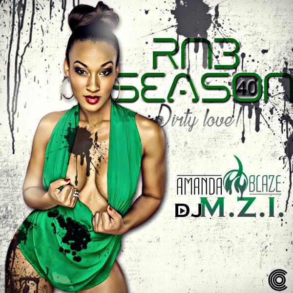 DJ Amanda Blaze - R&B Season 40 MIXCD r 20170220