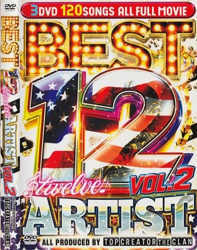 2017年要注目アーティストのヒット曲満載! / Best Twelve 12 Artist Vol.2 (3DVD)