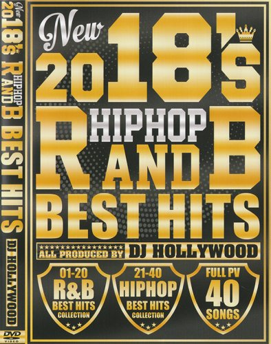 最新HIPHOP&RnB★新譜チェックしましょう★- 2018's HIPHOP R&B Best Hits / DJ Hollywood - (DVD)