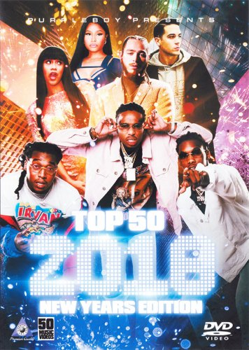 リアルアメリカ★本当のHIPHOPDVD - Top 50: New Years 2018 Edition - (DVD)