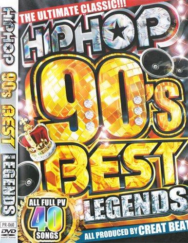 永久保存90年代ヒップホップクラシックPV集!!!! - HIPHOP 90's Legends - (DVD)