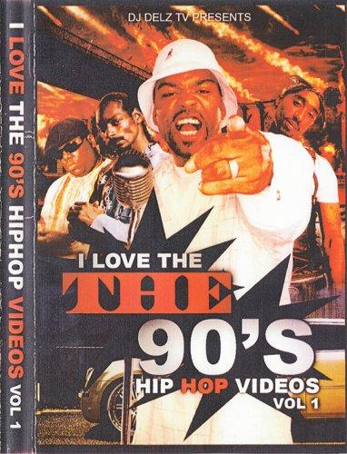 ヒップホップ黄金時代復活!!!! - DJ Delz - I Love The 90's Vol.1  - (DVD)