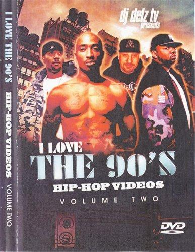 ヒップホップ黄金時代復活!!!! - DJ Delz - I Love The 90's Vol.2  - (DVD)
