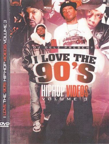 ヒップホップ黄金時代復活!!!! - DJ Delz - I Love The 90's Vol.3  - (DVD)