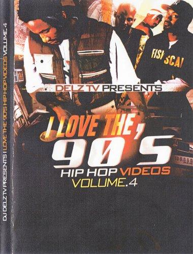 ヒップホップ黄金時代復活!!!! - DJ Delz - I Love The 90's Vol.4  - (DVD)