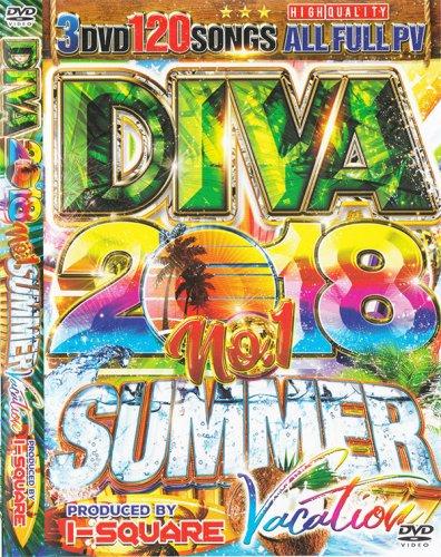 ▲絶対王者▲神シリーズ「DIVA」2018 夏 バケーション!!! - DIVA 2018 NO.1 SUMMER VACATION - I-SQUARE - (3DVD)