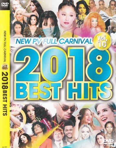 最新の洋楽PV40曲収録!!! - New PV Full Carnival Vol.10 -2018 Best Hit- - (DVD)