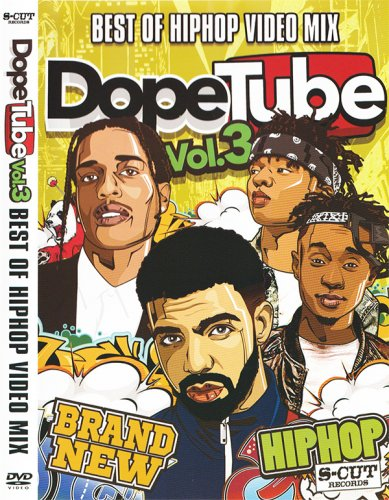 全国のヒップホップファン御用達!!!Hip Hop Video Mix第三弾!!! - Dope Tube Vol.3 / V.A - (DVD)